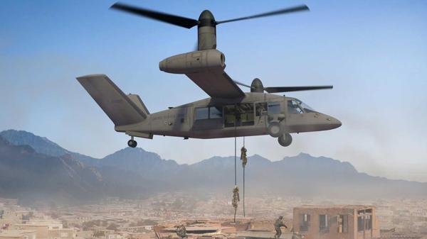 El V-280 promete ser más ligero, ágil y rápido que el Black Hawk. También transportar muchos más comandos en su interior y conseguir evacuaciones más dinámicas