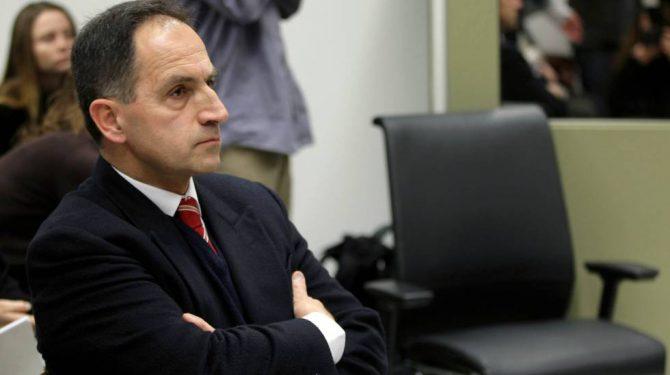 Varela, en el juicio donde fue condenado en 2010.
