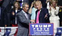Trump y Farage.