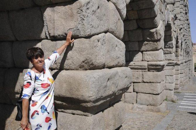 La concejala de Turismo y Patrimonio del Ayuntamiento de Segovia, Claudia de Santos