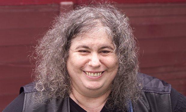 Andrea Dworkin, conocida feminista judía.