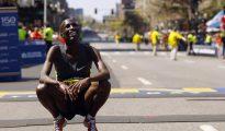 Uno de los atletas kenianos que fueron abandonados en las favelas de Río.
