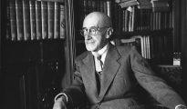 Retrato del dramaturgo y académico Jacinto Benavente.