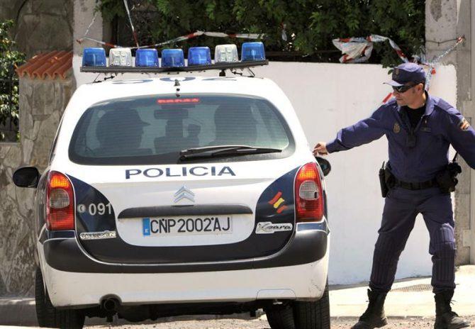 En la imagen, un coche de la Policía Nacional.