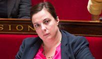 La ministra francesa de Vivienda, Emmanuelle Cosse