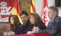 Acto de presentación de EUPV a las municipales de 2015.