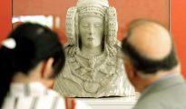 Réplica exacta de la Dama de Elche, una de las obras maestras del arte ibérico.