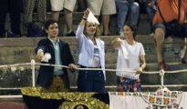 La infanta Elena se unión al clamor a favor de la Fiesta Nacional.