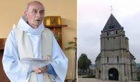 El padre Jacques Hamel fue asesinado por islamistas yihadistas el 26 de julio, en la iglesia de Saint-Étienne-du-Rouvray.