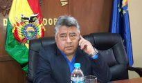Fotografía de archivo, cedida por la Agencia Boliviana de Información (ABI), del viceministro de Régimen Interior, Rodolfo Illanes, el 20 de junio de 2016, en La Paz (Bolivia).