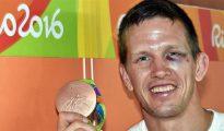 Así le quedó el ojo al judoca belga Así le quedó el ojo al judoca belga.