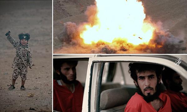 El 7 de junio se informó de que la ciudadana británica Grace 'Jadiya' Dare trajo a su hijo de cuatro años, Isa Dare, a vivir a Suecia, para que disfrutara de sanidad gratuita. En febrero se vio al niño en un vídeo del ISIS haciendo volar a cuatro prisioneros en un coche (imagen superior). El padre del pequeño, un yihadista con ciudadanía sueca, murió luchando con el ISIS.