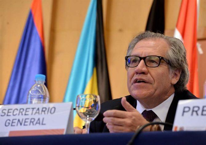 El secretario general de la de la Organización de los Estados Americanos (OEA), Luis Almagro.