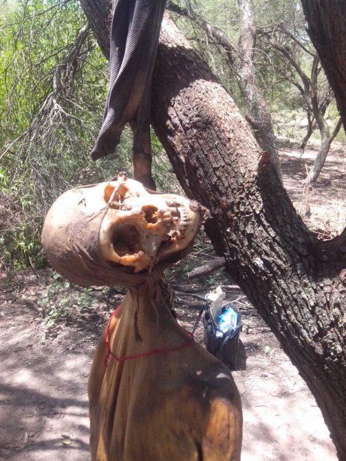 Macabro hallazgo en una tribu canibal de África.