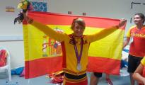 Mireia Belmonte, orgullosa de ser española.
