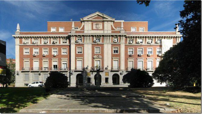 Palacio de la Moncloa.