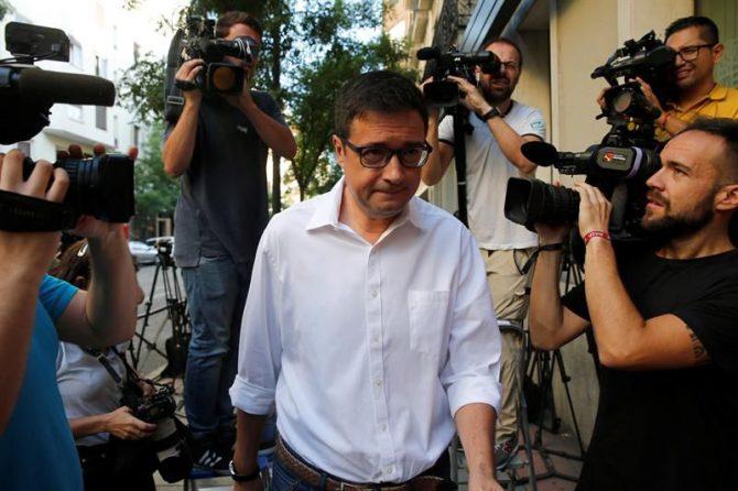 El portavoz del PSOE en el Senado, Óscar López.