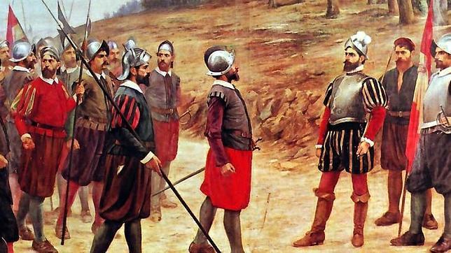 Los 13 de la Fama, los hombres que acompañaron a Pizarro a conquistar el Perú.