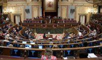 Pleno del Congreso de los diputados durante la XI Legislatura