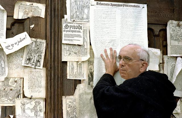 Martín Bergoglio expone las tesis de la Exhortación Postsinodal