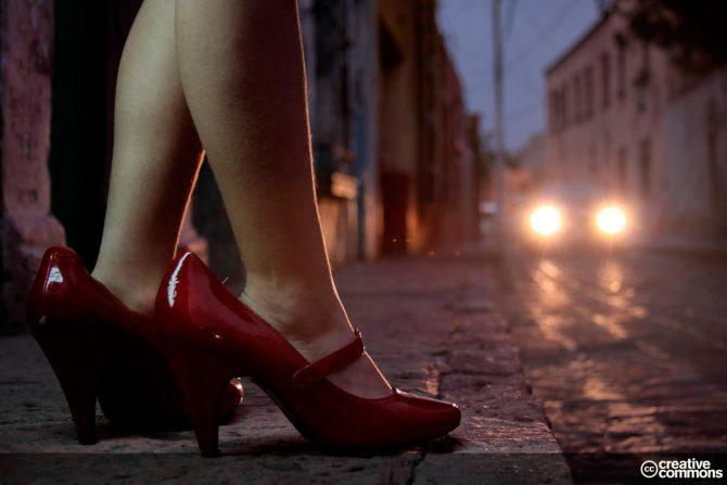 Prostitución infantil en internet.