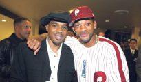Will Smith con su amigo Duane Martin