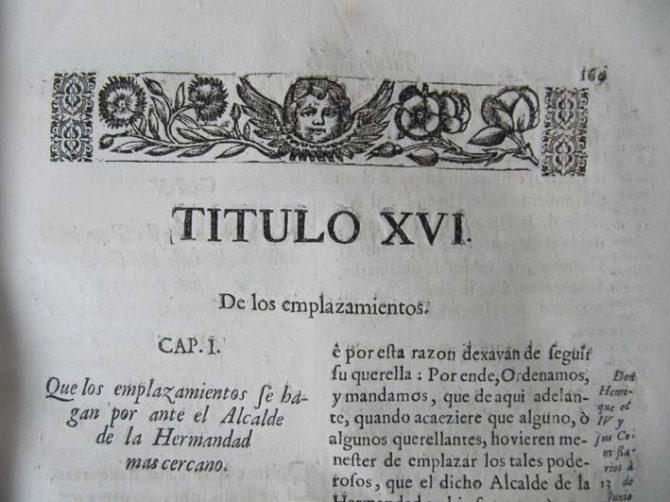 Libro Fueros de Guipúzcoa de 1696.