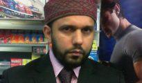 """Asad Shah fue asesinado en Glasgow, Escocia, por Tanveer Ahmed, un musulmán que proclamaba que Shah había """"faltado el respeto al profeta Mahoma"""" al desear unas felices Pascuas a los cristianos."""