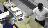 Imagen de archivo de un robo en una gasolinera de Badajoz