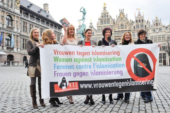 Mujeres identitarias europeas.