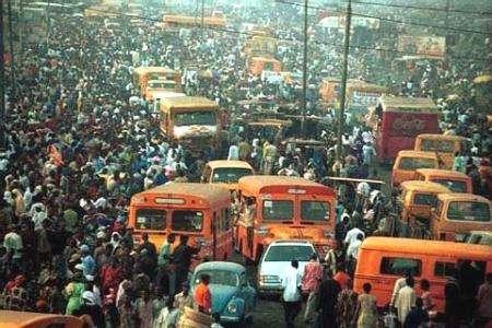 Lagos, capital de Nigeria.