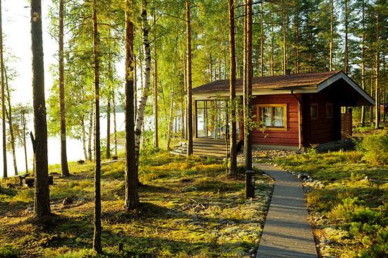 Solsticio de verano en Finlandia.