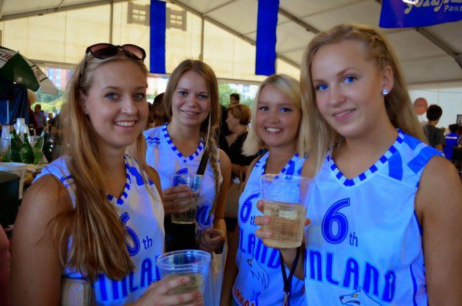 Mujeres finlandesas.