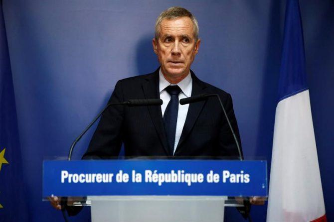 El fiscal de París que dirige en Francia la acción judicial antiterrorista, François Molins.