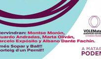 Cartel de la fiesta de Podemos en Mataró (Barcelona). Cartel de la fiesta de Podemos en Mataró (Barcelona).