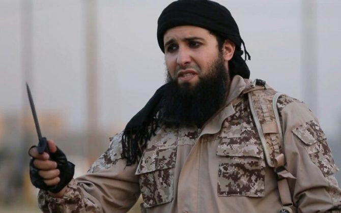 Captura de pantalla de un vídeo de propaganda del grupo Estado Islámico difundido el 20 de julio de 2016 que muestra al yihadista Rachi Kassim