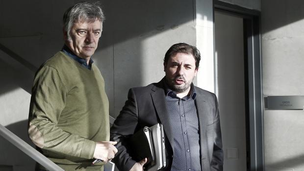 Koldo Martinez y Unai Hualde