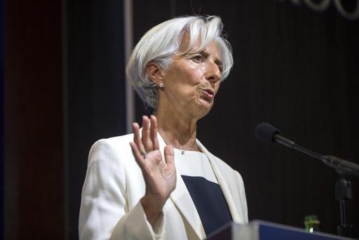 La directora gerente del Fondo Monetario Internacional (FMI), Christine Lagarde.