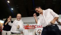 Pedro Sánchez y Miquel Iceta al más puro estilo de ¡Mira quien baila!