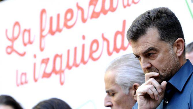 El coordinador general de IU Andalucía, Antonio Maíllo.