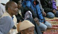 Algunos de los despedidos, de origen somalí.