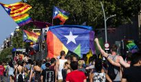 El Orgullo Gay recorre las calles de Barcelona