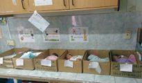 Seis recién nacidos duermen en cajas de cartón en un hospital de Venezuela