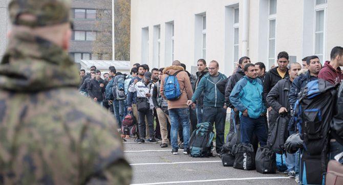 Refugiados en Finlandia.