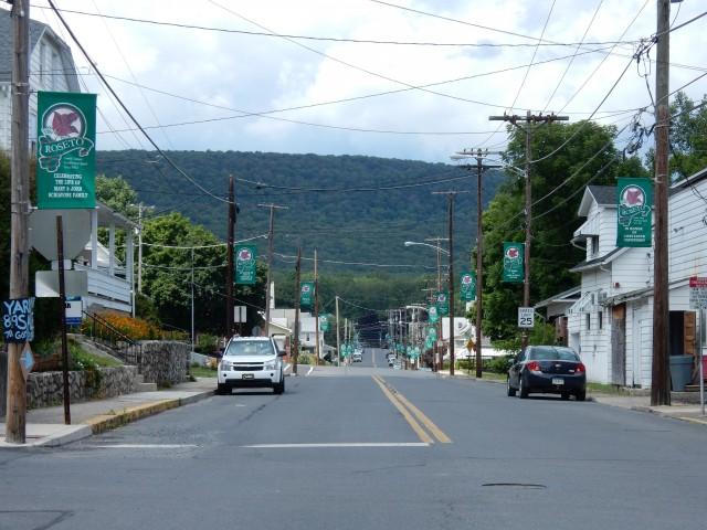 Calle de Roseto.