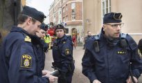 Policías suecos.