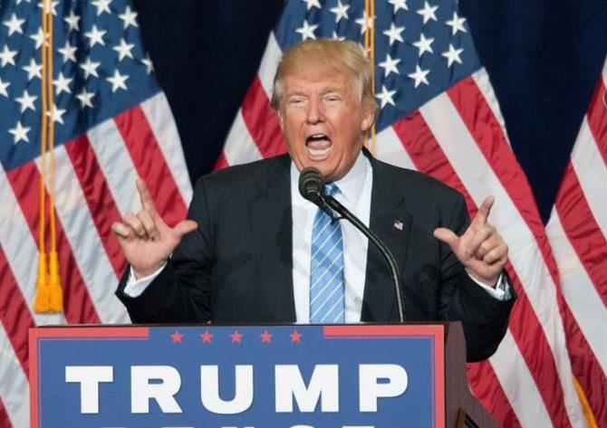 Donald Trump, candidato presidencial republicano.