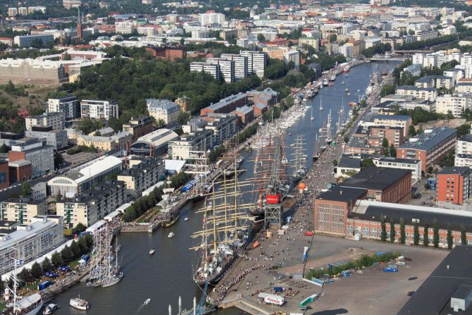 Ciudad de Turku.