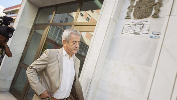 El exconsejero de Innovación, Ciencia y Empresa Francisco Vallejo, declarando por el caso