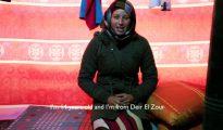 Zeinab, una refugiada siria desposada de 14 años, vive en un campamento libanés. Alemania acoge a miles de migrantes y refugiados de Siria, entre los que hay al menos 664 niñas desposadas. Con la legislación vigente, los tribunales de familia alemanes tienen la facultad de determinar la validez de los matrimonios de menors de edad de 14 o más años celebrados en el extranjero. (Imagen: pantallazo de un vídeo de World Vision UK).